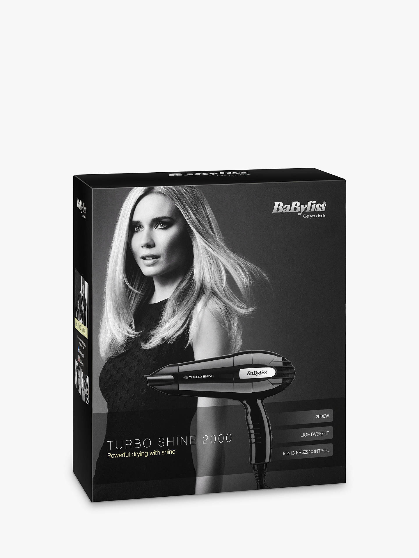 BuyBaByliss 5116U Turbo Shine Hair Dryer Online at johnlewis.com
