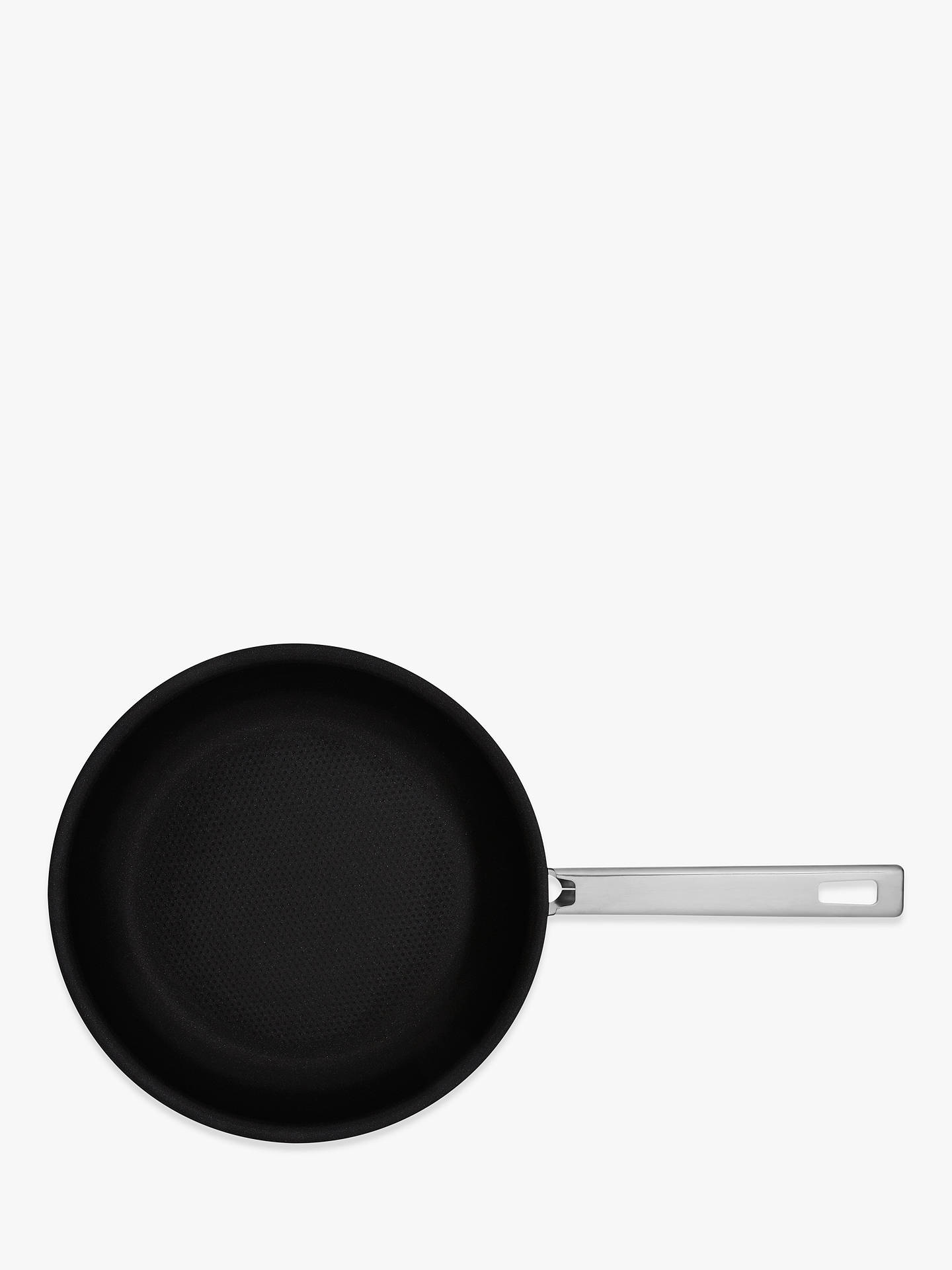 Buy John Lewis & Partners Classic Stainless Steel Non-Stick Frying Pan, 24cm Online at johnlewis.com