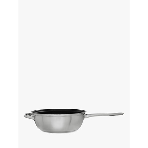 Buy John Lewis Classic Chef's Pan and Lid, 26cm Online at johnlewis.com