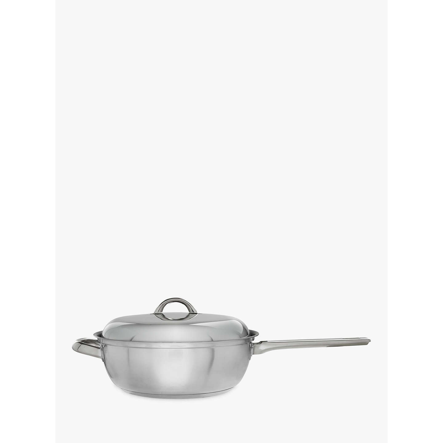 john lewis classic chef 39 s pan and lid 26cm at john lewis. Black Bedroom Furniture Sets. Home Design Ideas