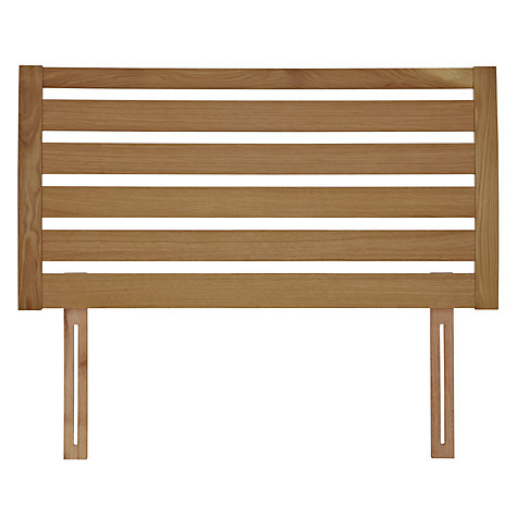 buy john lewis fawley wooden headboard, oak, king size  john lewis, Headboard designs