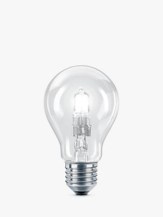 Philips 28W ES Classic Bulb, Clear
