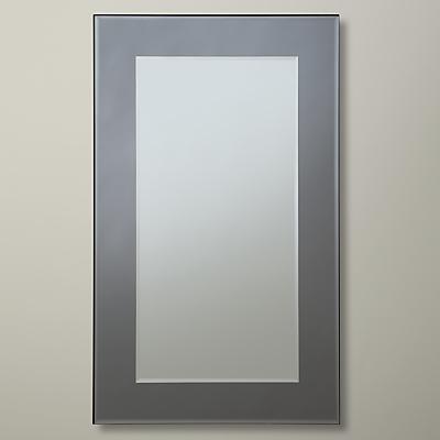 John Lewis Marietta Mirror, 100 x 61cm, Smoke