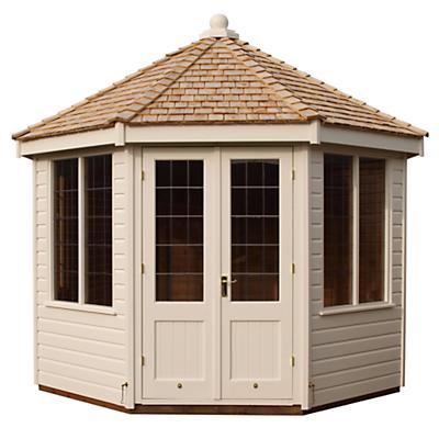 Crane 3 x 3m Round Pavilion Summerhouse, FSC-certified (Scandinavian Redwood)