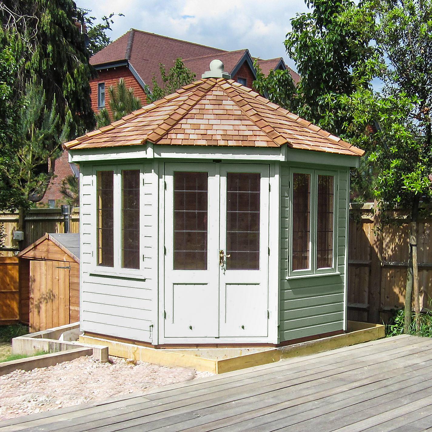 Buy Crane X M Round Pavilion Summerhouse FSCcertified - Summer house