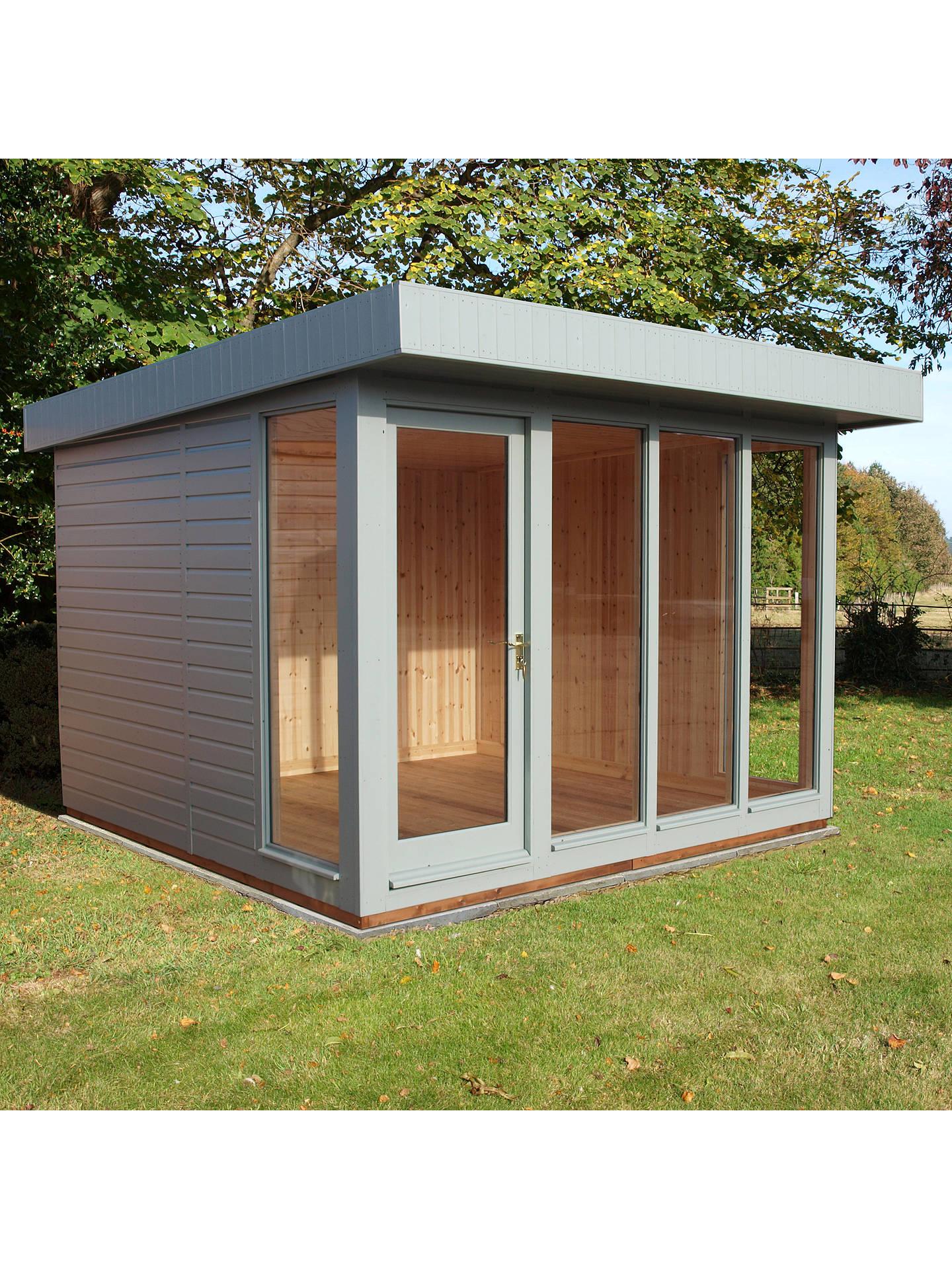 BuyCrane 3 X 3m Garden Studio, FSC Certified (Scandinavian Redwood), Sage  ...
