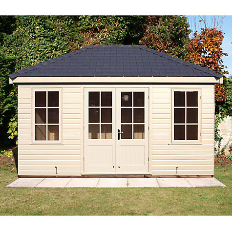 Buy Crane 3.0 x 4.2m Garden Room, FSC-certified (Scandinavian Redwood) Online at johnlewis.com