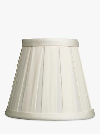 John Lewis Partners Oratorio Silk Candle Lampshade Cream