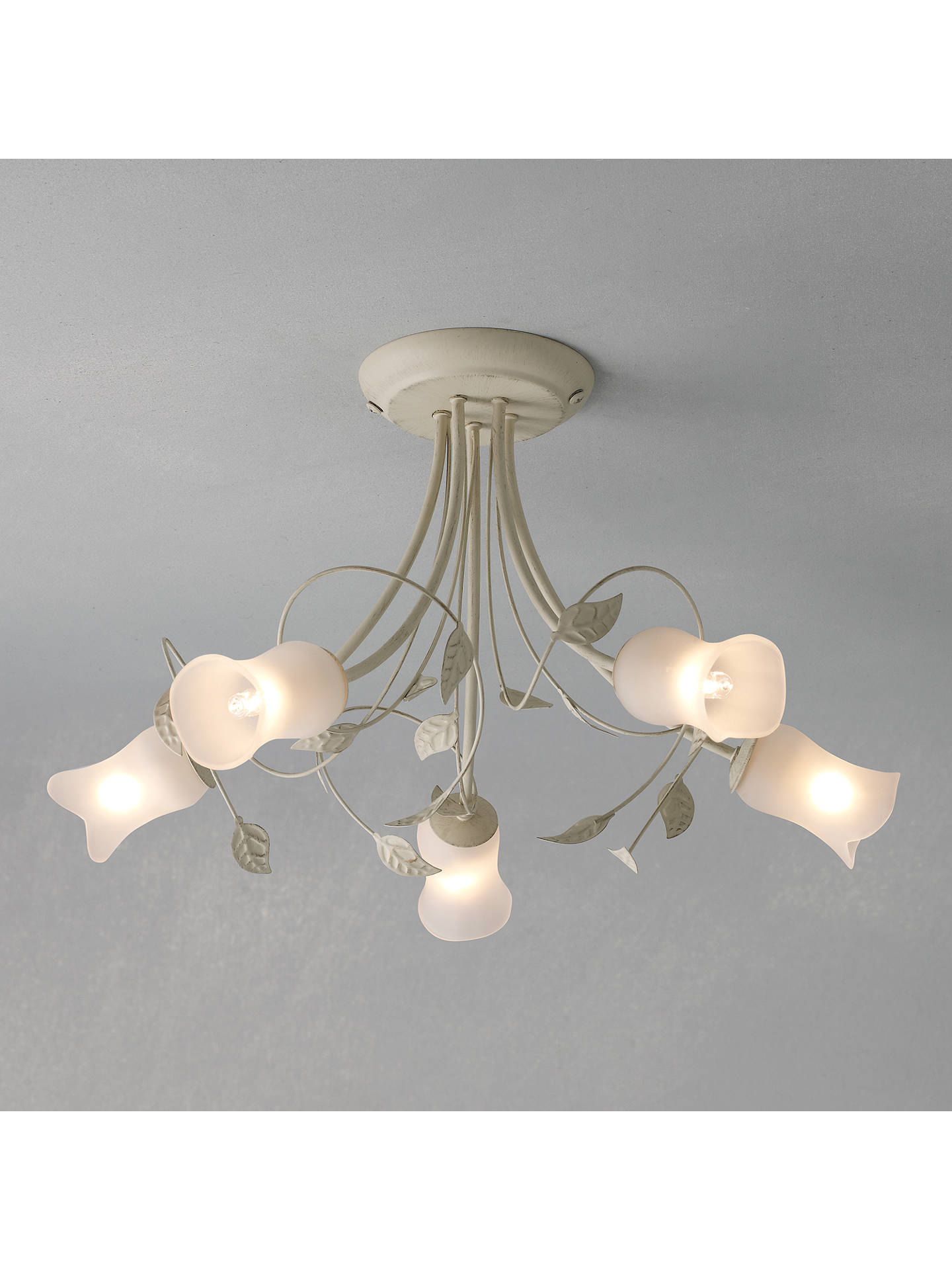 John Lewis Amy Ceiling Light 5 Arm At Partners