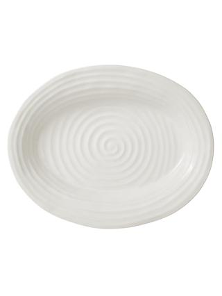 Sophie Conran for Portmeirion Oval Plate, White, Large, L43cm