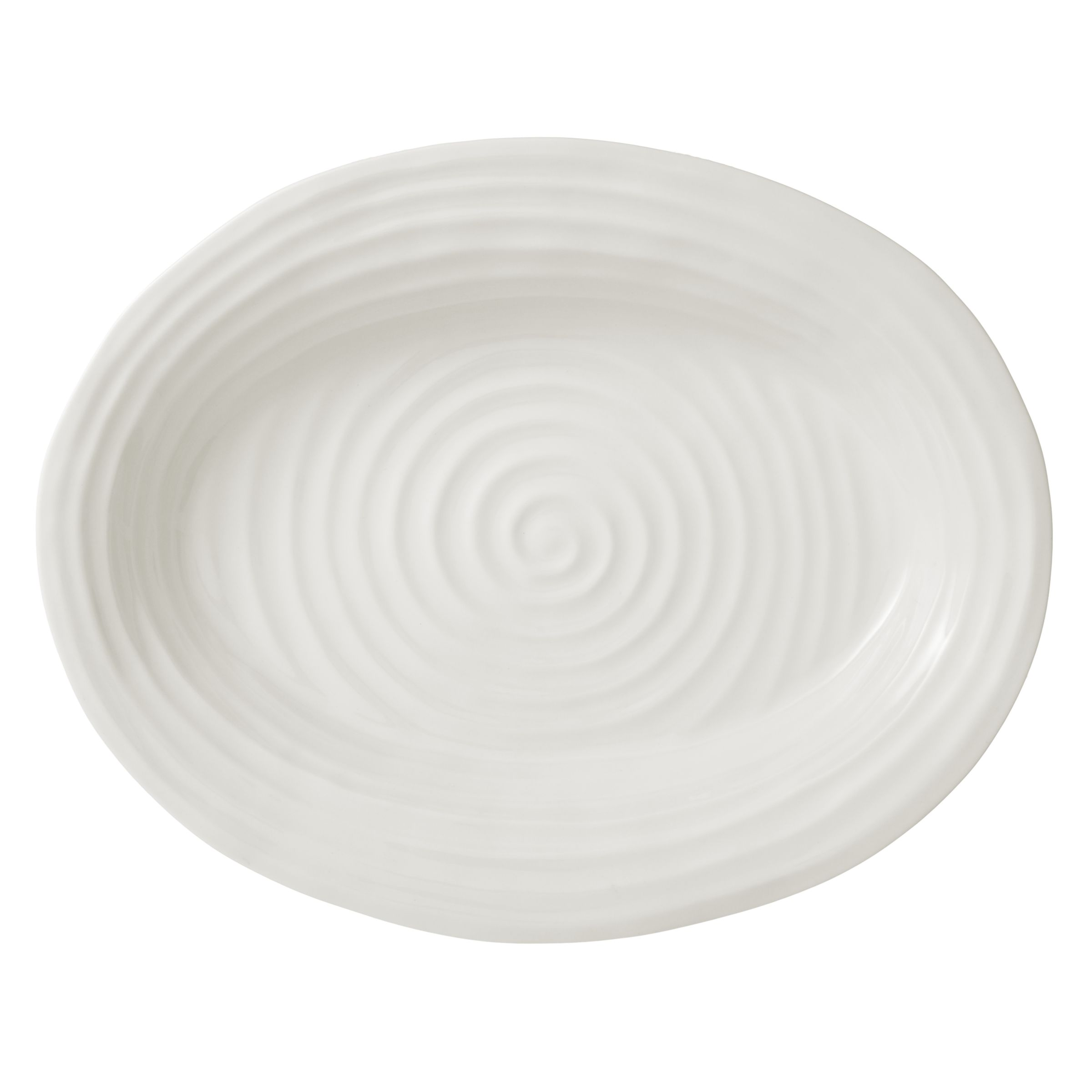 Sophie Conran for Portmeirion Sophie Conran for Portmeirion Oval Plate, White, Large, L43cm