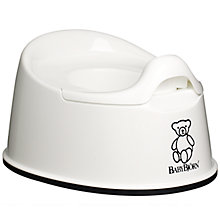 Buy BabyBjörn Smart Potty, White Online at johnlewis.com
