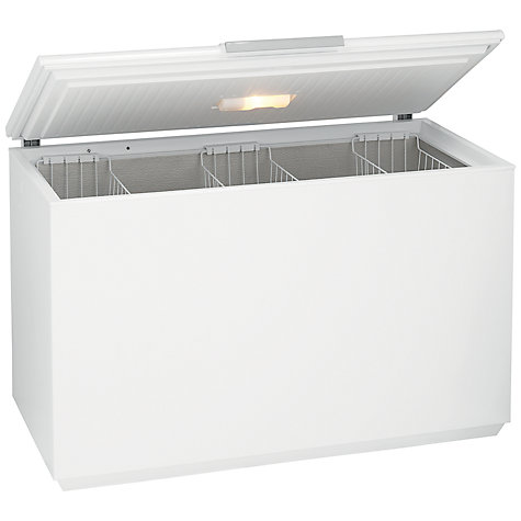 Buy John Lewis JLCH400 Chest Freezer, A+ Energy Rating, 134cm Wide, White Online at johnlewis.com
