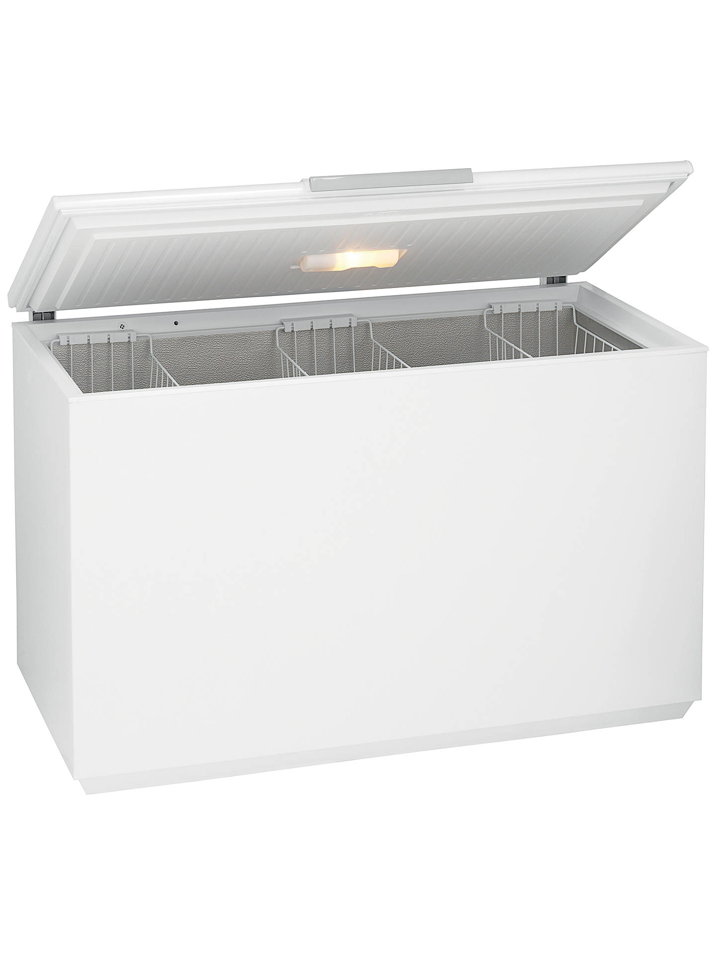 BuyJohn Lewis & Partners JLCH400 Chest Freezer, A+ Energy Rating, 134cm Wide, White Online at johnlewis.com
