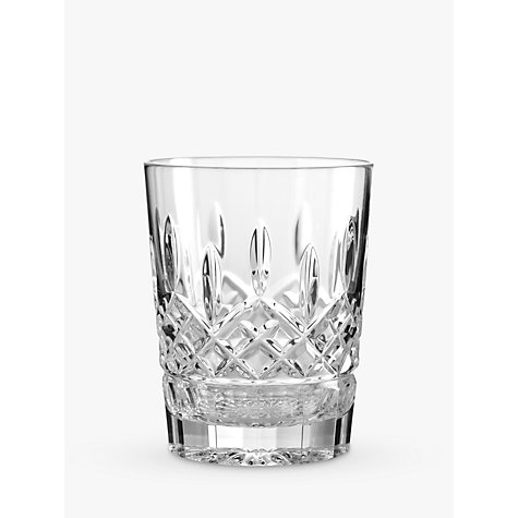 Waterford Crystal Lismore Double Old Fashioned Cut Lead Crystal Tumbler