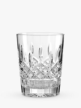 Waterford Crystal Lismore Double Old Fashioned Cut Lead Crystal Tumbler, 350ml