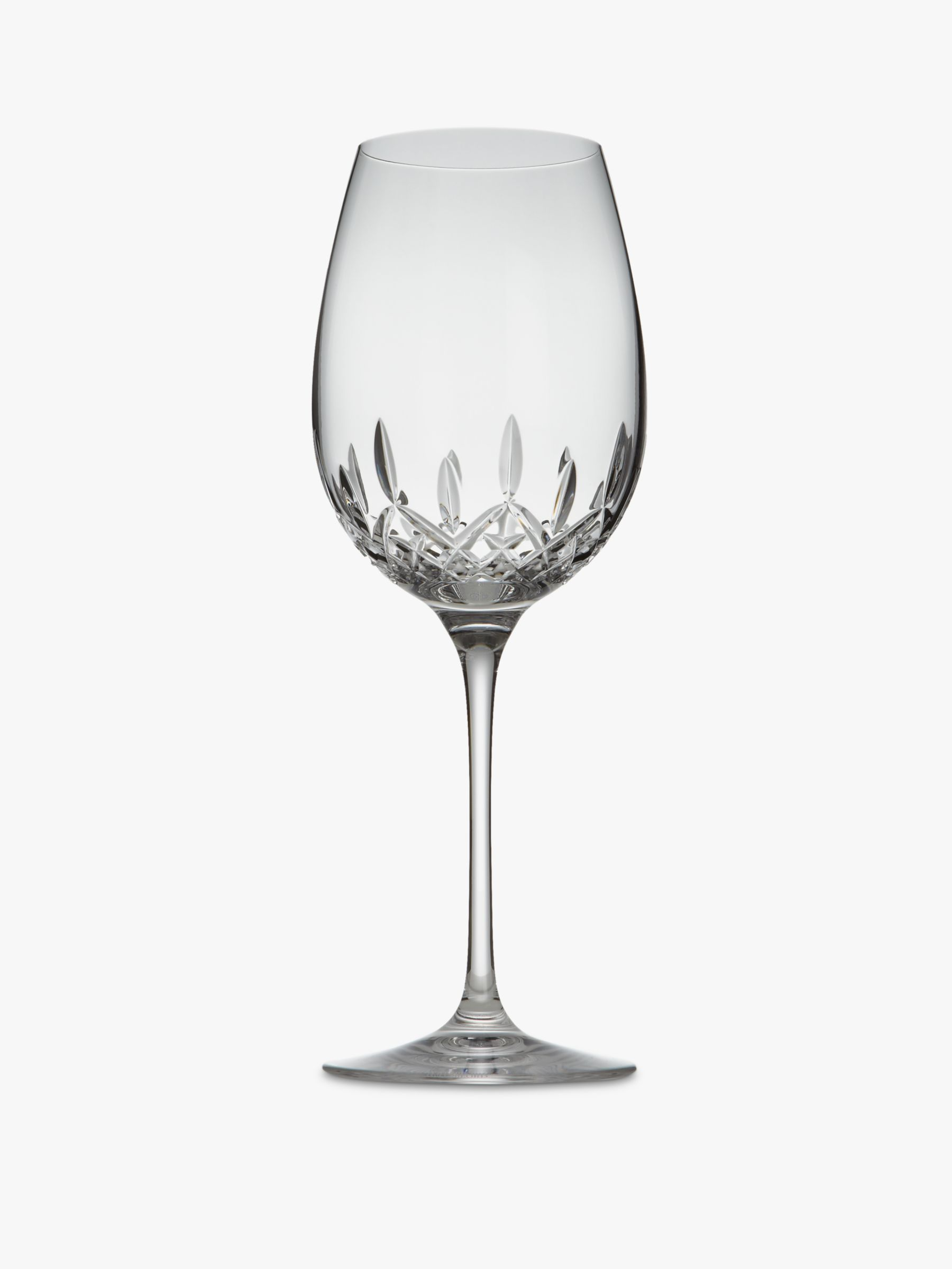 Waterford Waterford Crystal Lismore Essence Cut Lead Crystal Goblets, Box of 2, Clear