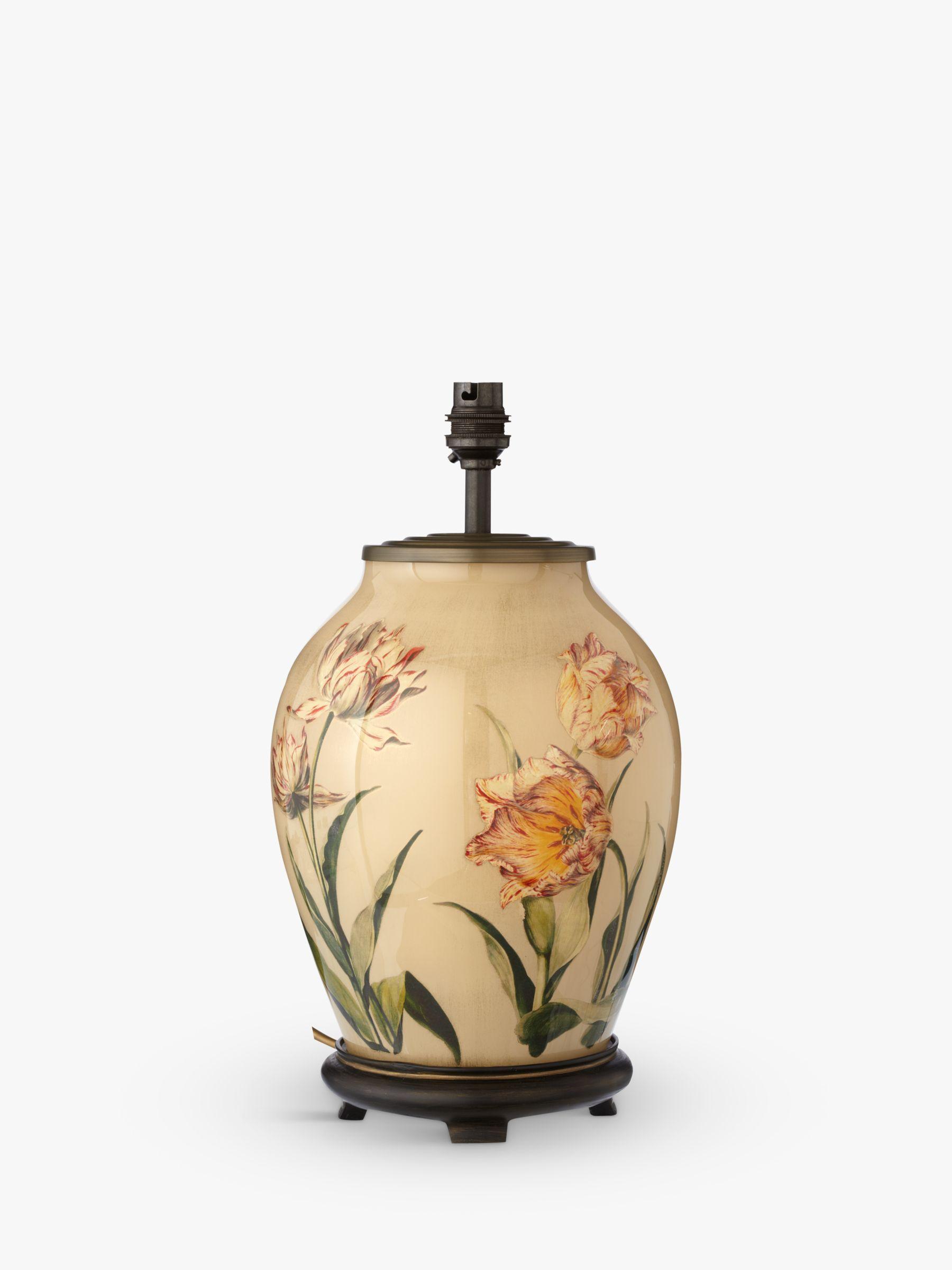 Jenny Worrall Jenny Worrall Sievert Tulip Small Glass Lamp Base, Multi, H37cm