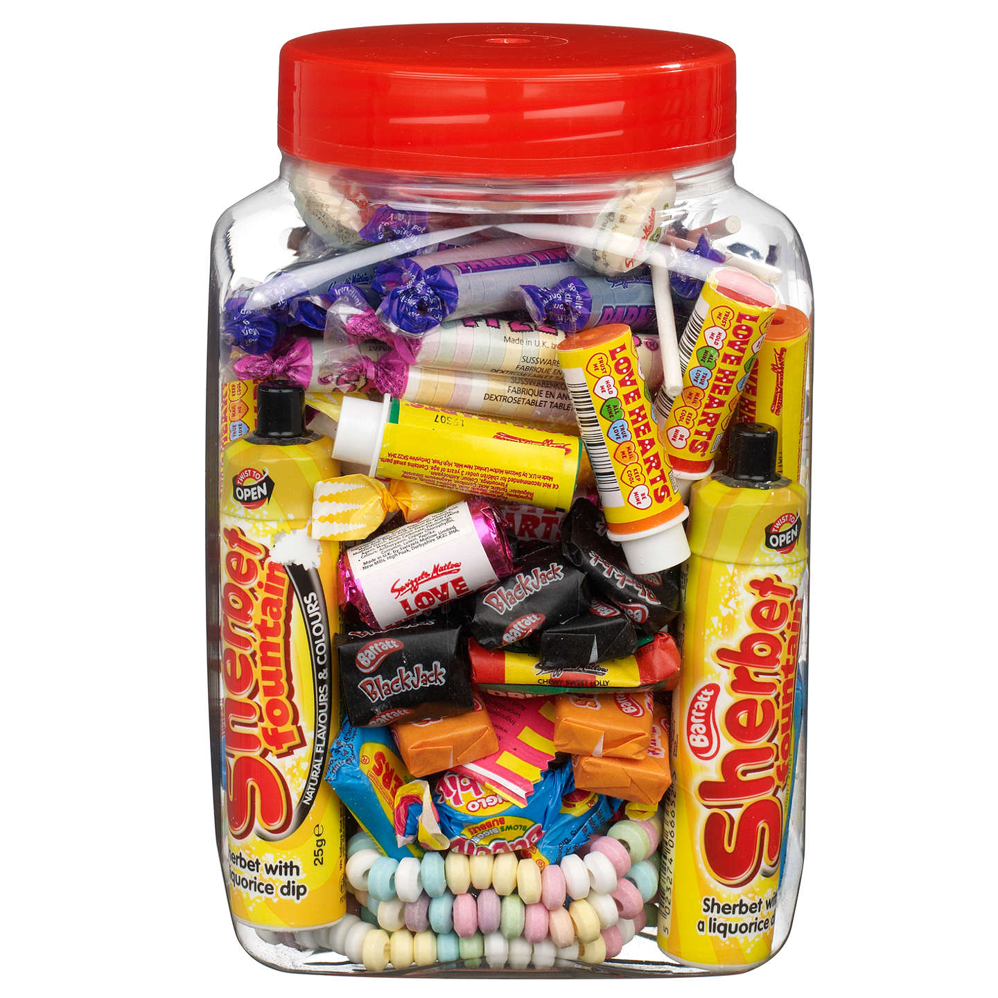 BuyRetro Mixed Giant Sweet Jar, 1.2kg Online at johnlewis.com