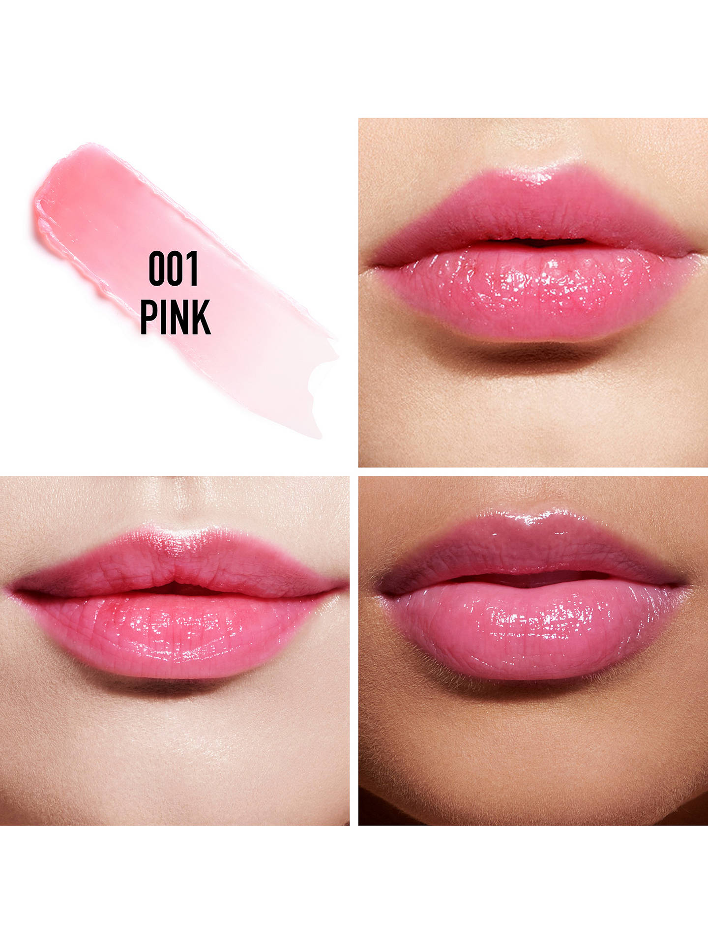 BuyDior Addict Lip Glow, 001 Pink Online at johnlewis.com
