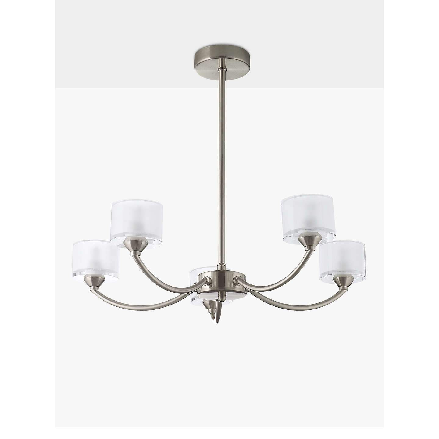 John lewis paige ceiling light 5 arm at john lewis buyjohn lewis paige ceiling light 5 arm satin nickel online at johnlewis aloadofball Choice Image