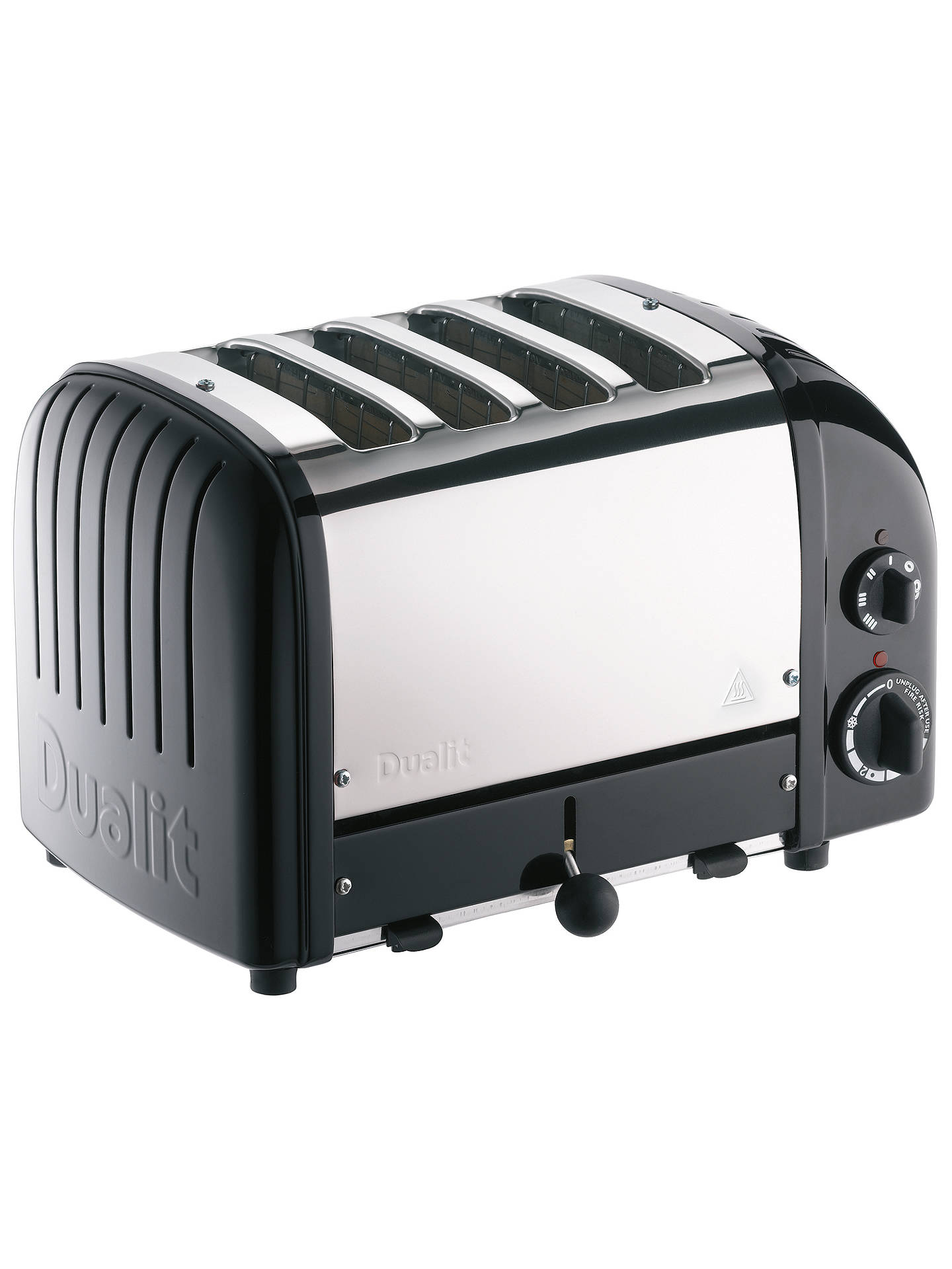 Buy Dualit NewGen 4-Slice Toaster, Black Online at johnlewis.com