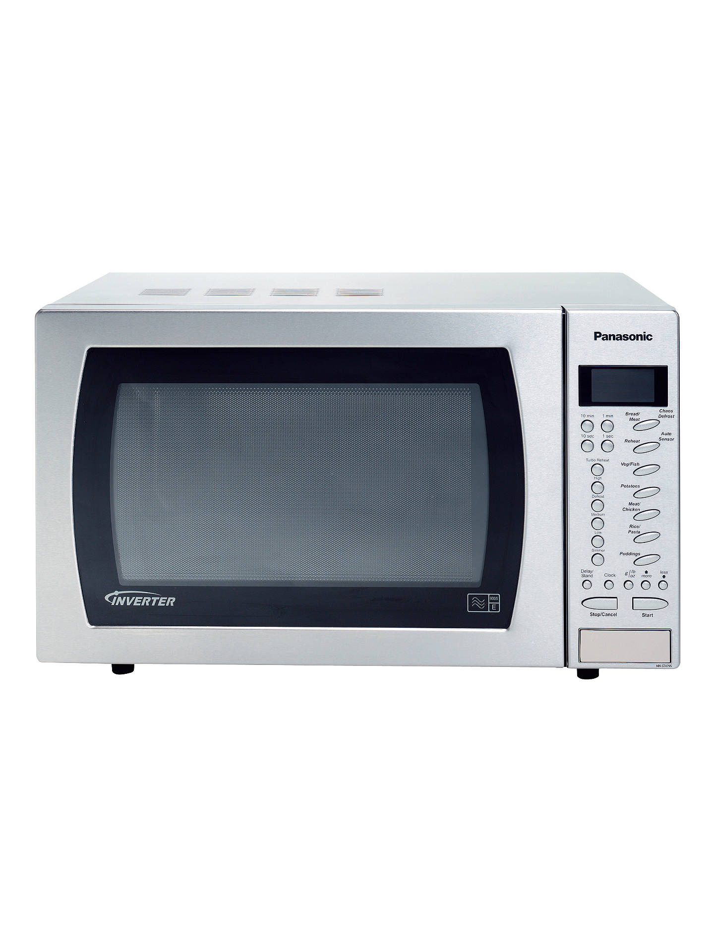 Panasonic Nn St479sbpq Sensor Microwave Oven Stainless Steel Online At Johnlewis