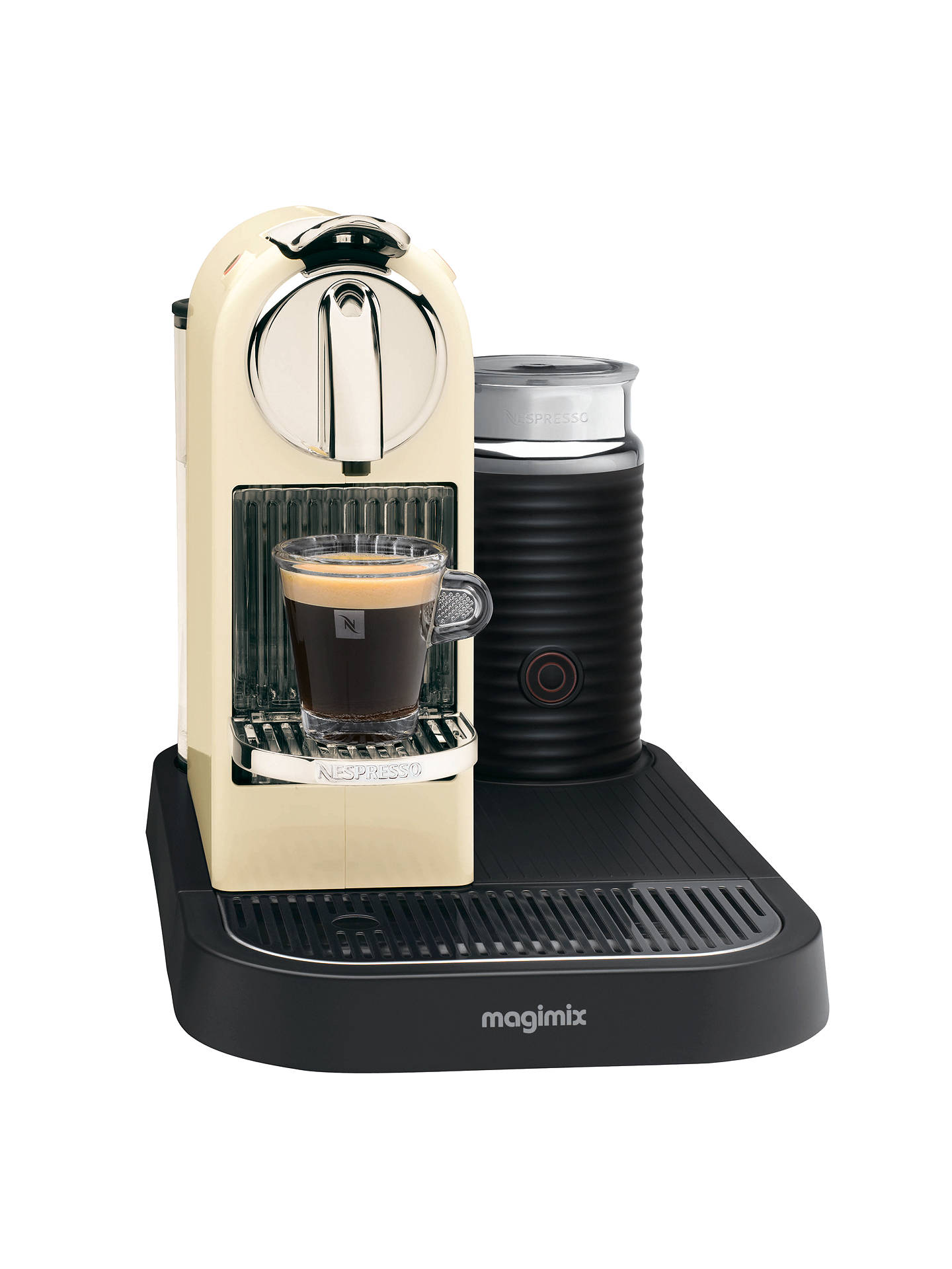 nespresso 190 citiz and milk coffee machine by magimix cream at john lewis partners. Black Bedroom Furniture Sets. Home Design Ideas
