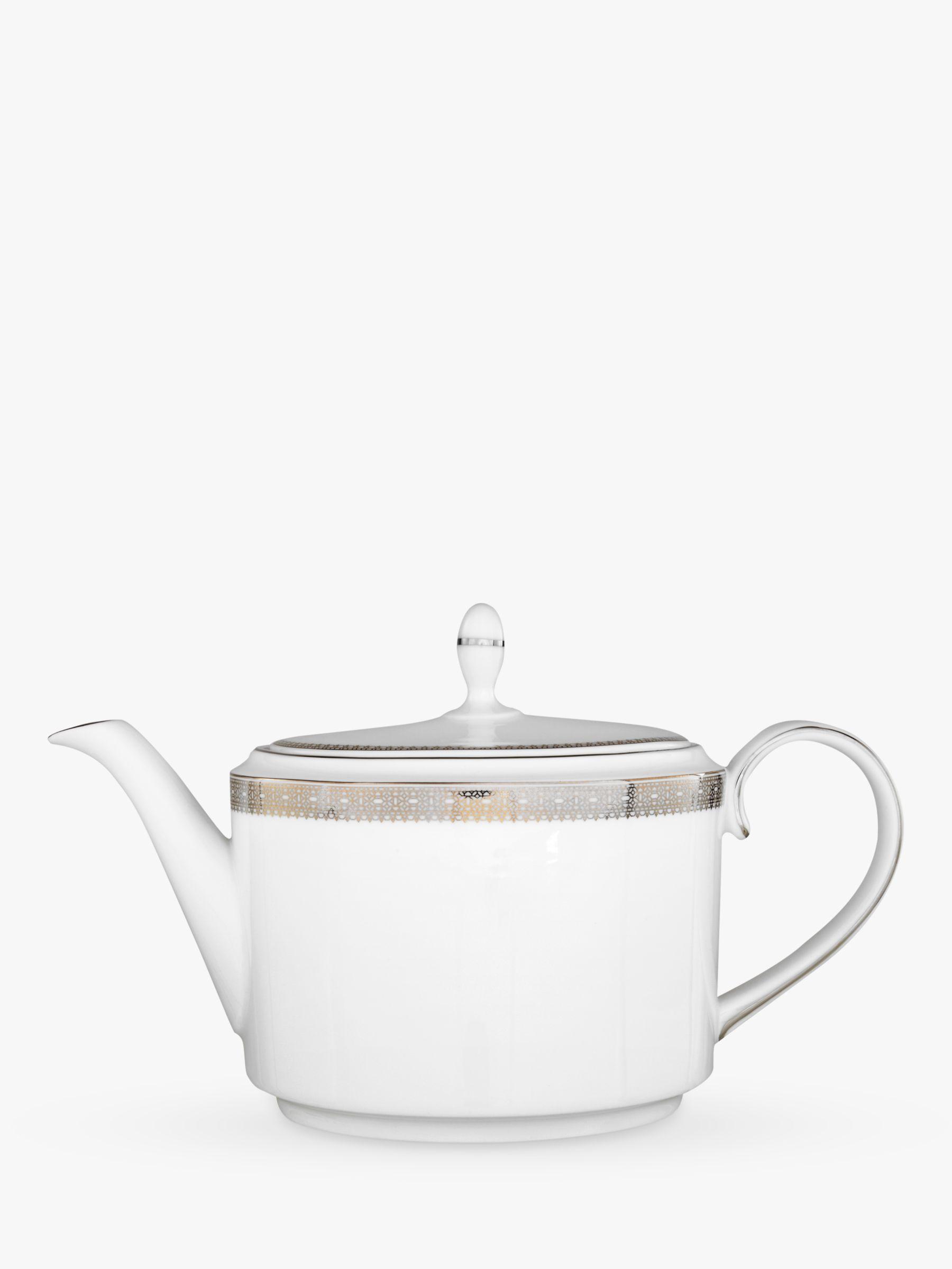 Vera Wang for Wedgwood Vera Wang for Wedgwood Lace Platinum Teapot, 1.1L