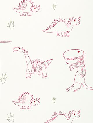 Harlequin Jolly Jurassic Children's Wallpaper