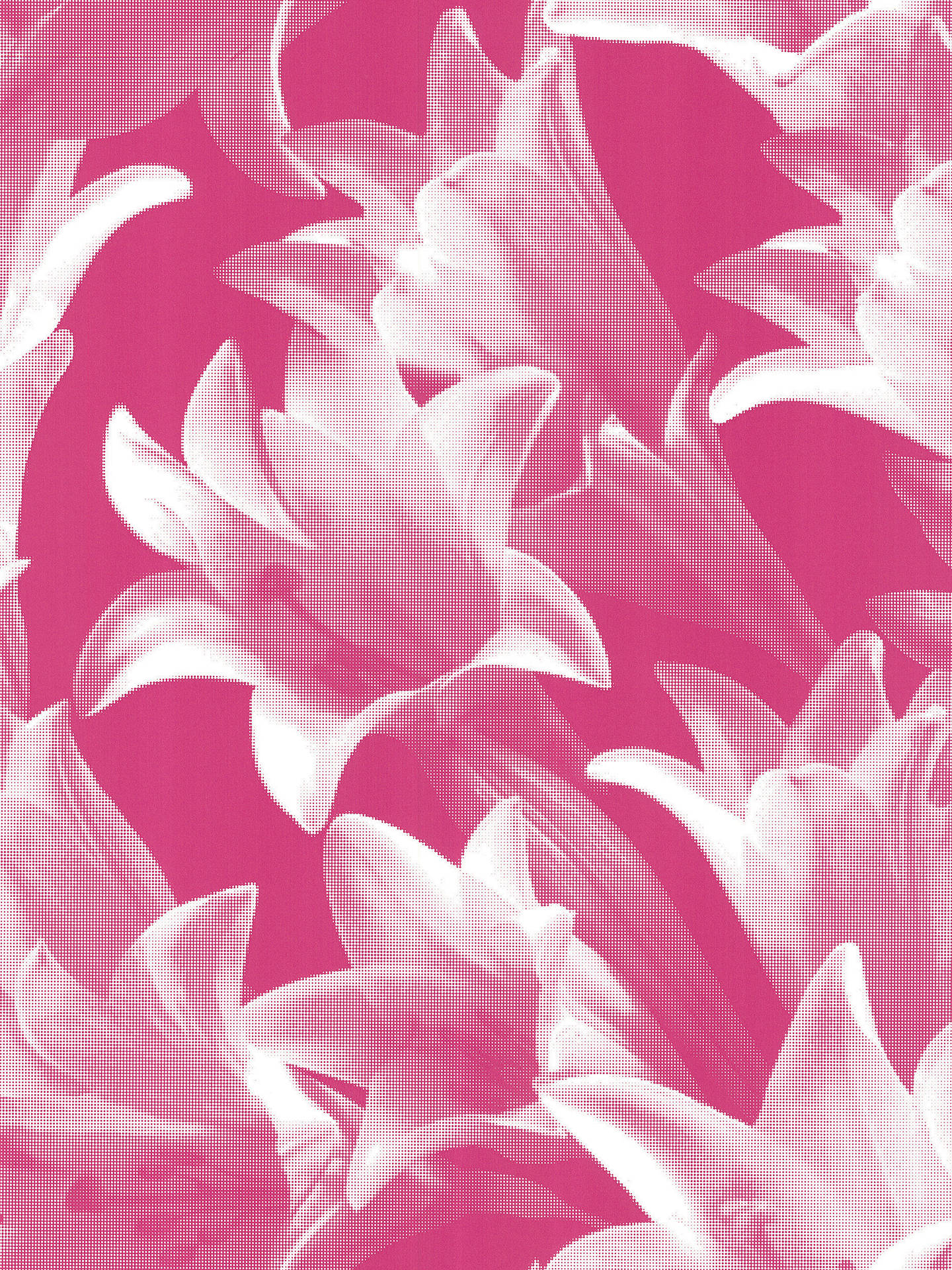 Harlequin Wallpaper Eternal 30728 Fuchsia Online At Johnlewis