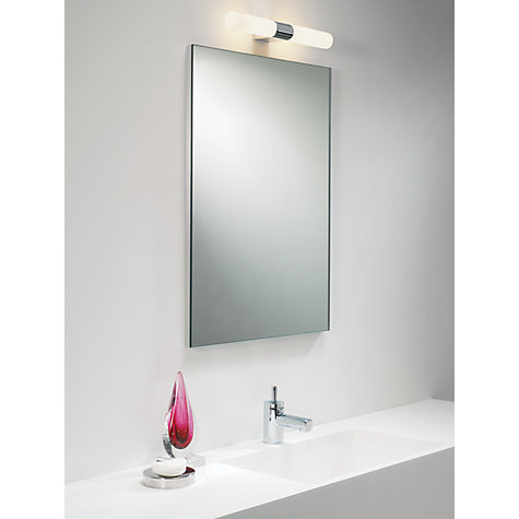 Buy astro padova over mirror bathroom light john lewis for Bathroom lights above mirror