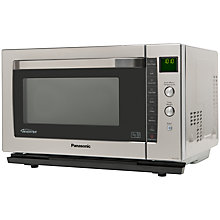 Buy Panasonic NN-CF778SBPQ Combination Microwave, Stainless Steel Online at johnlewis.com