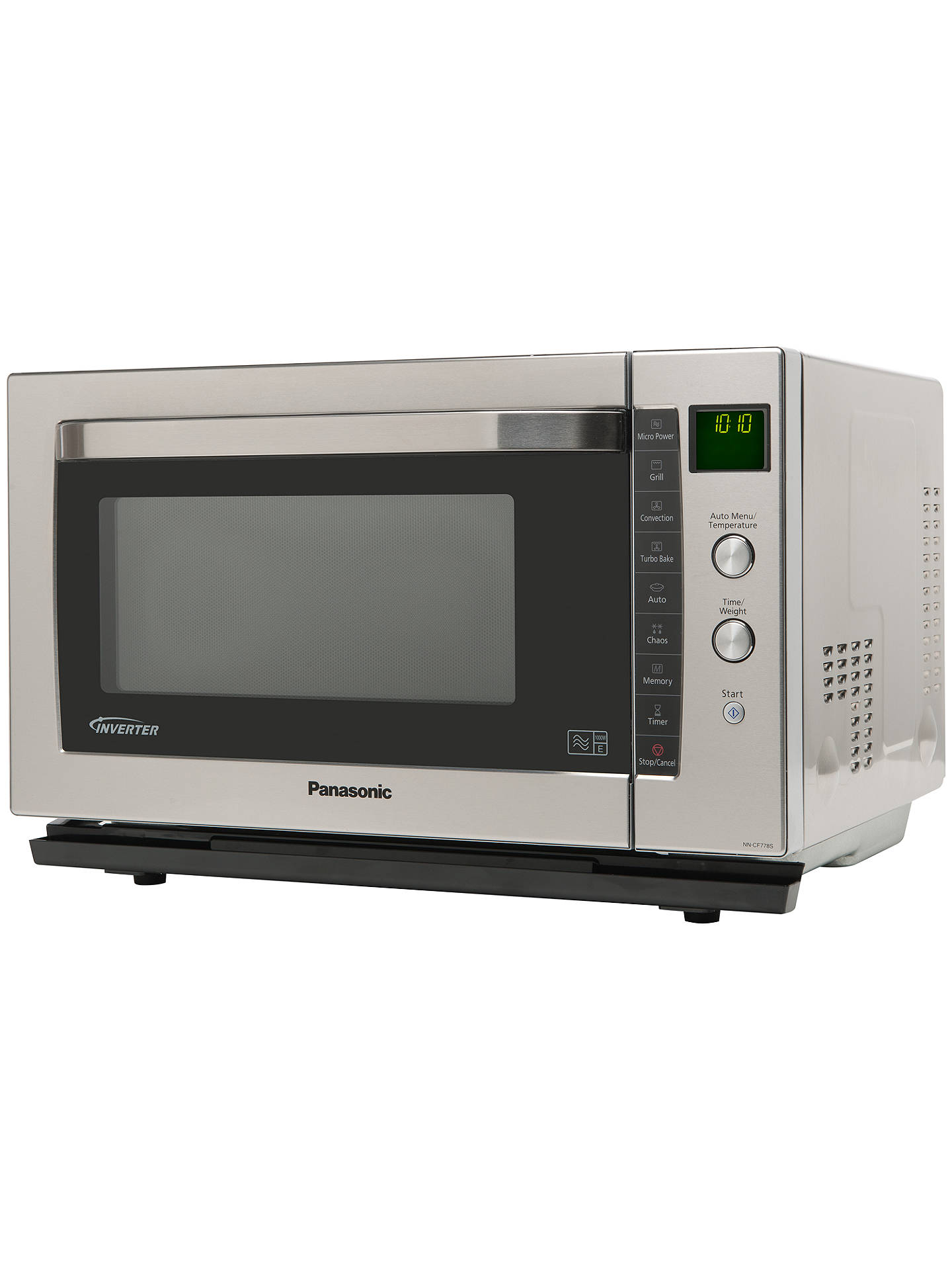 Panasonic Nn Cf778sbpq Combination Microwave Oven Stainless Steel Online At Johnlewis