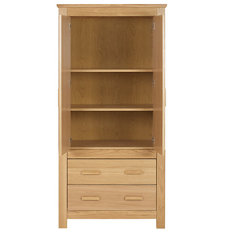Buy John Lewis Lasko Wardrobe, Oak Online at johnlewis.com