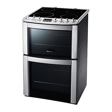Buy Electrolux EKC603602X Electric Cooker, Stainless Steel Online at johnlewis.com