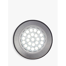 Buy John Lewis Cool LED Circular Flat Under Cabinet Lights, Set of 2 Online at johnlewis.com