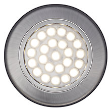 Buy John Lewis Warm LED Circular Flat Under Cabinet Lights, Set of 2 Online at johnlewis.com