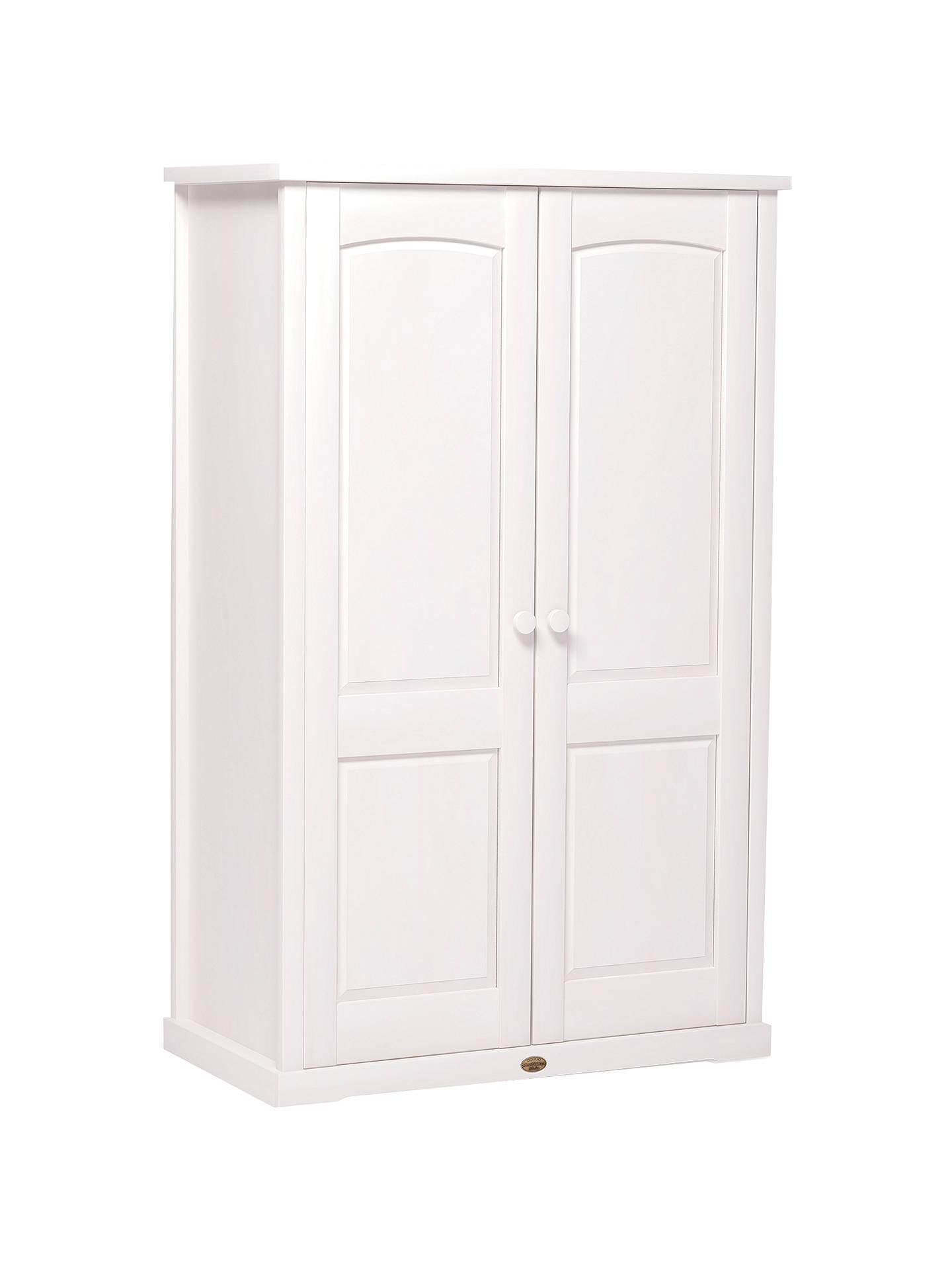Boori Nursery Wardrobe White At John