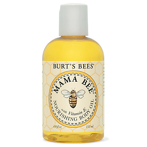 Buy Burt's Bees Mama Bee Nourishing Body Oil, 115ml Online at johnlewis.com