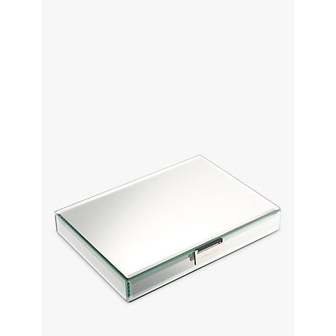 Buy stackers glass jewellery box lid john lewis for Stackers jewelry box canada
