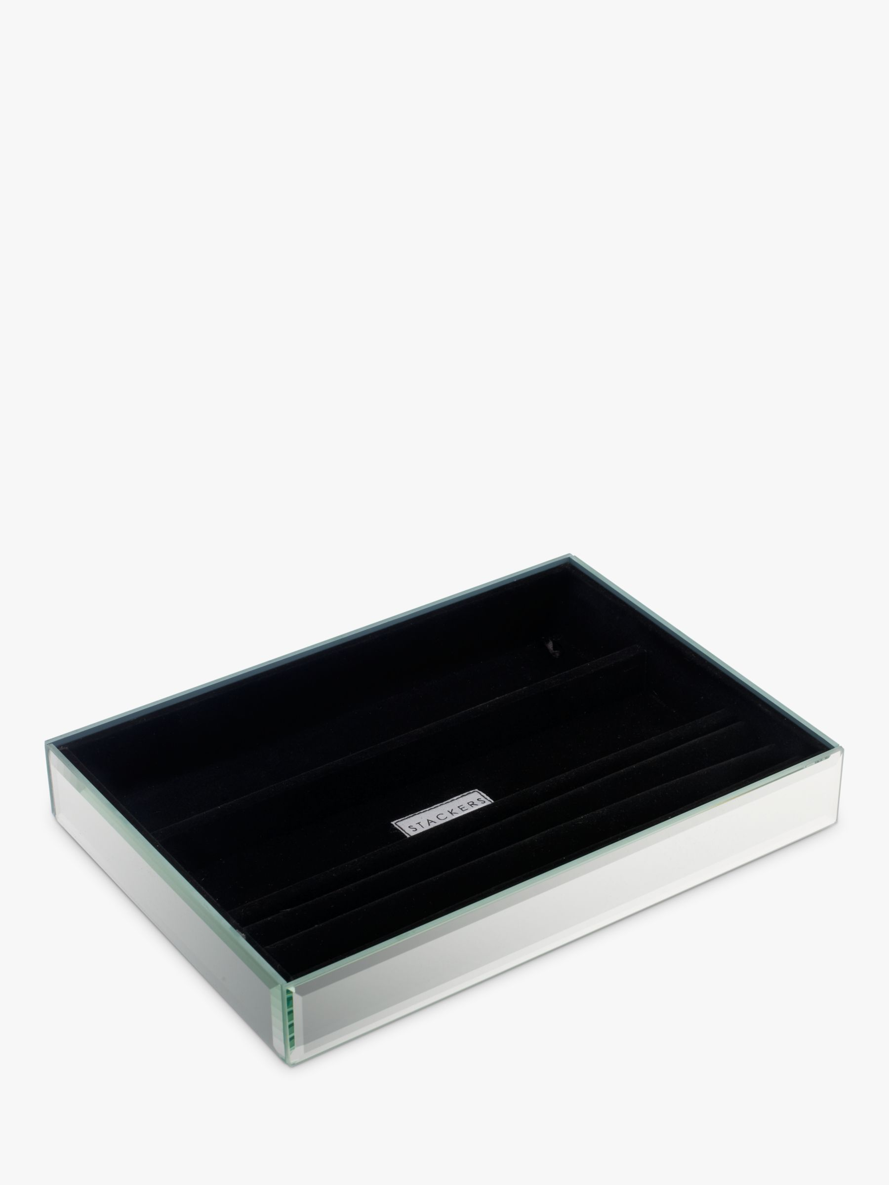 Stackers Stackers Glass Jewellery Tray, 4 Section