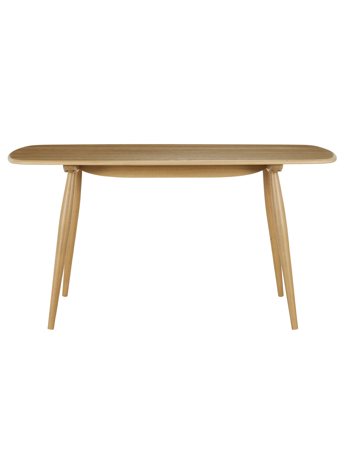 Ercol For John Lewis Chiltern 4 Seater Dining Table Oak Online At Johnlewis