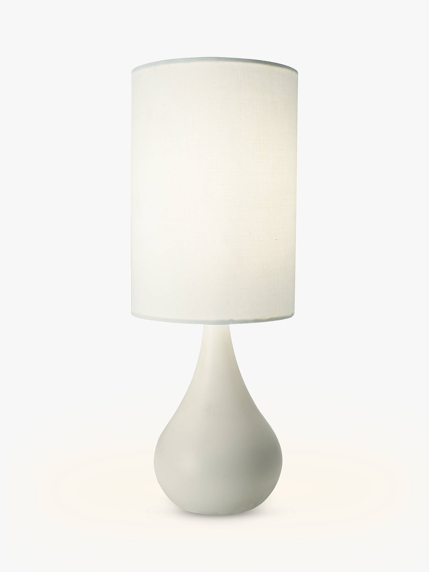 BuyJohn Lewis & Partners Kristy Touch Lamp, White Online at johnlewis.com