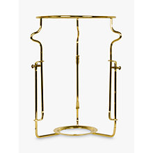 Buy John Lewis Adjustable Shade Carrier, Brass, ES Fitting Online at johnlewis.com
