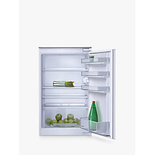 Buy Neff K1514X7GB Integrated Fridge, A+ Energy Rating, Right-Hand Hinge, 55cm Wide Online at johnlewis.com