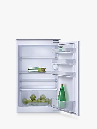 Neff K1514X7GB Integrated Fridge, A+ Energy Rating, Right-Hand Hinge, 55cm Wide