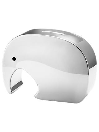 Georg Jensen Moneyphant Large Stainless Steel Money Box