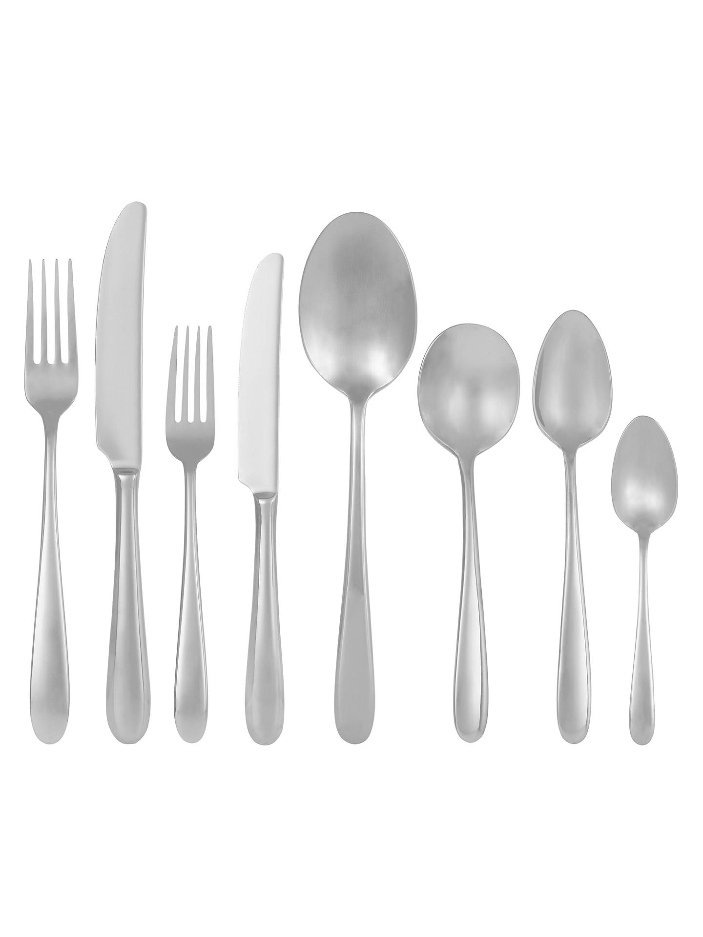 Buy John Lewis & Partners Dome Dessert Spoon Online at johnlewis.com