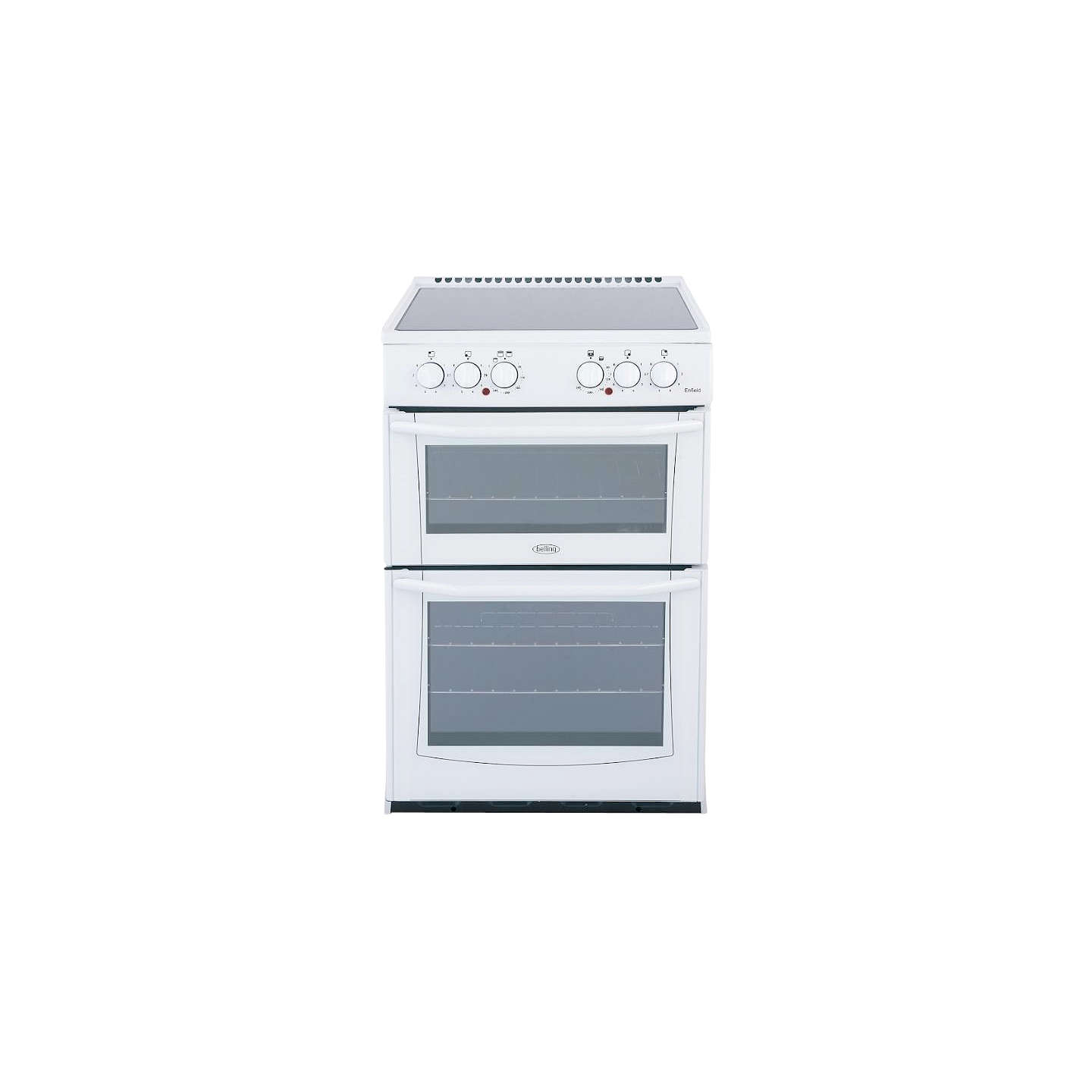 belling e552w enfield electric cooker white at john lewis. Black Bedroom Furniture Sets. Home Design Ideas